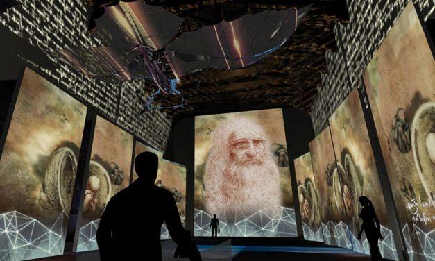 Leonardo Da Vinci llega a CDMX con la exposición más grande del mundo
