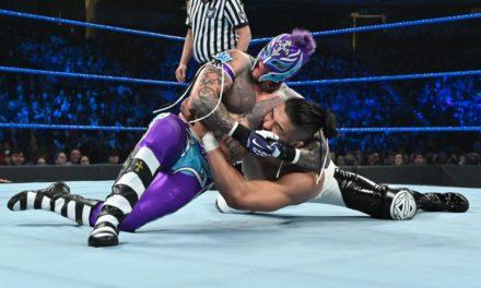 Andrade derrota a Rey Misterio Jr en Monday Night RAW