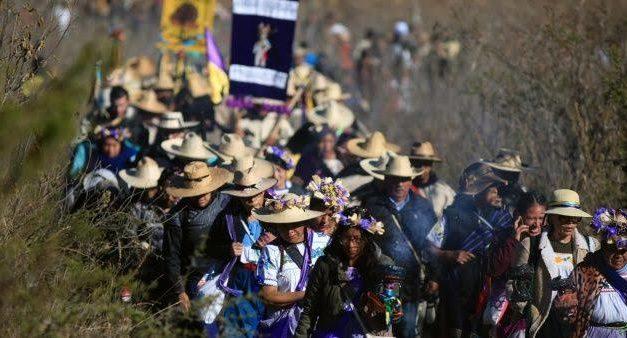 Caminata del Fuego 2020, así celebran el Año Nuevo los Pueblos Purépechas