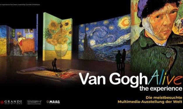 Llega Van Gogh Alive The Experience a la CDMX.
