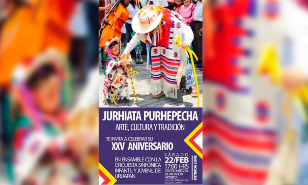 XXV Aniversario Jurhiata Purhépecha