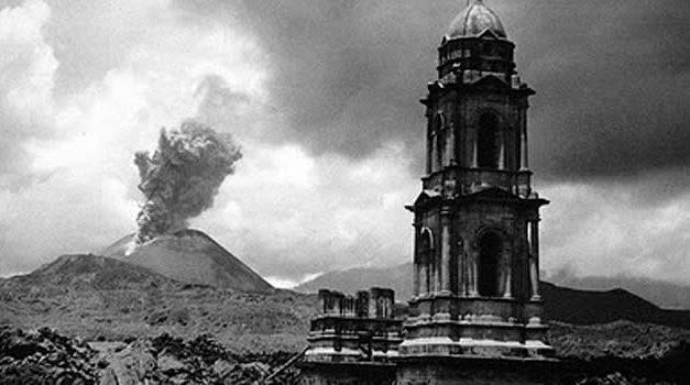 El nacimiento de un Volcán