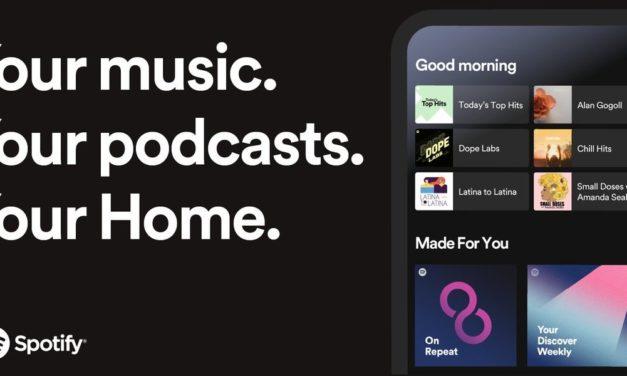 Spotify renueva su aplicación en iOS y Android