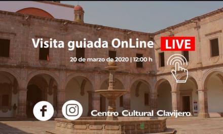 Centro Cultural Clavijero hará recorrido virtual