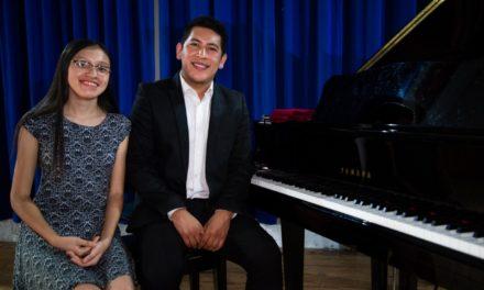 Exitoso concierto online de Grivan Pérez y Andrea Ramírez