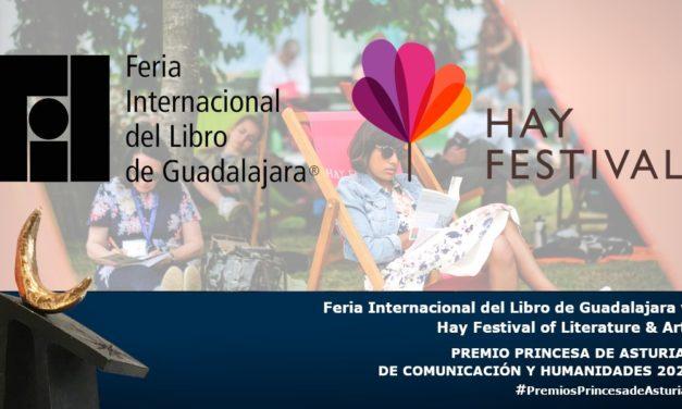 La FIL de Guadalajara y Hay Festival ganan el premio Princesa de Asturias 2020.