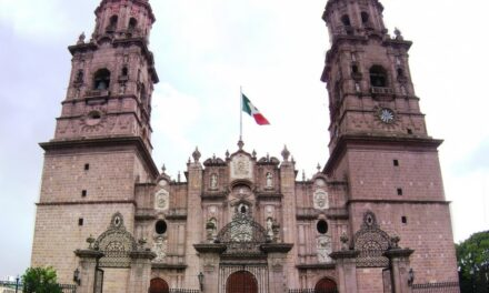La catedral y sus alrededores.