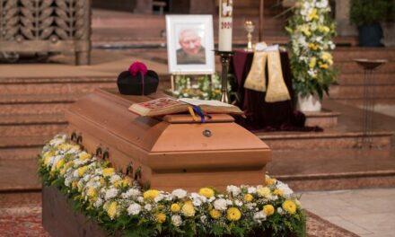 El último adiós a Georg Ratzinger. Mensaje de Benedicto XVI