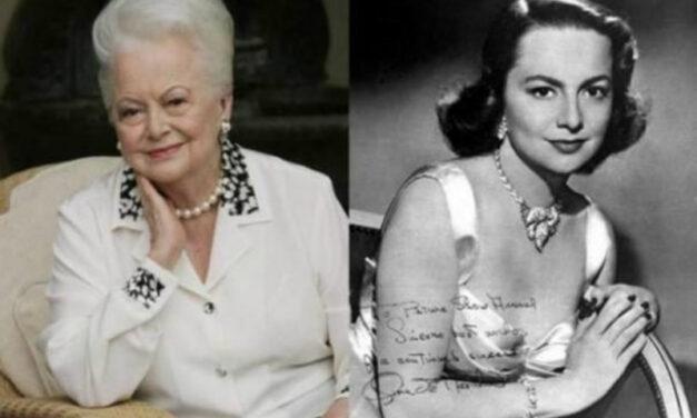 """Fallece la Actriz Olivia de Havilland, la estrella de """"Lo que el viento se llevó"""""""