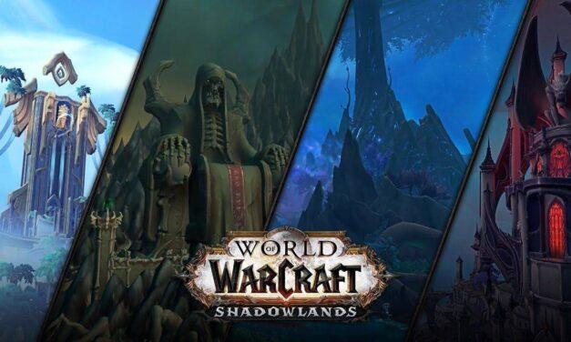 World of Warcraft: Shadowlands tiene fecha de lanzamiento