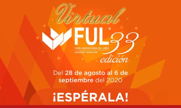 La edición 33 de la Feria Universitaria del Libro se celebra en línea