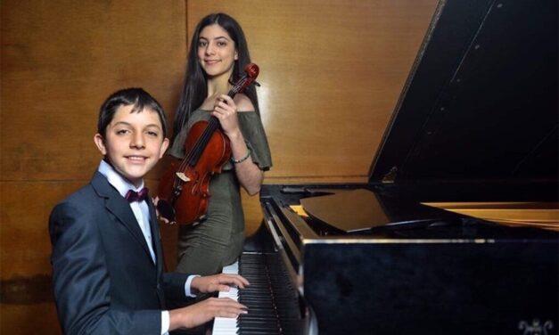 Reconocen en el extranjero a pequeños músicos mexicanos