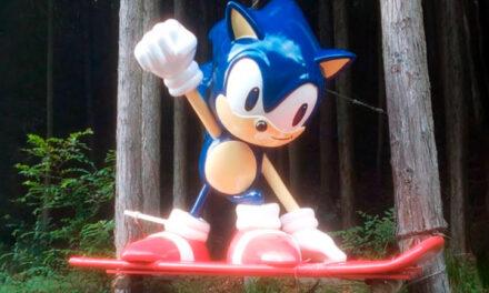 La misteriosa estatua de Sonic en Japón es restaurada