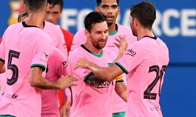 Barcelona triunfa 3-1 al Girona en partido amistoso