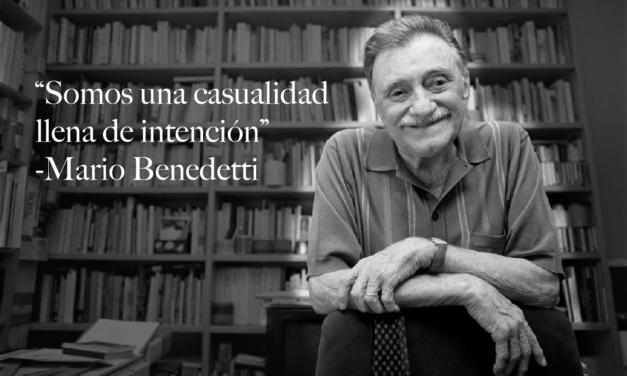 Mario Benedetti 100 años marcando nuestras vidas.