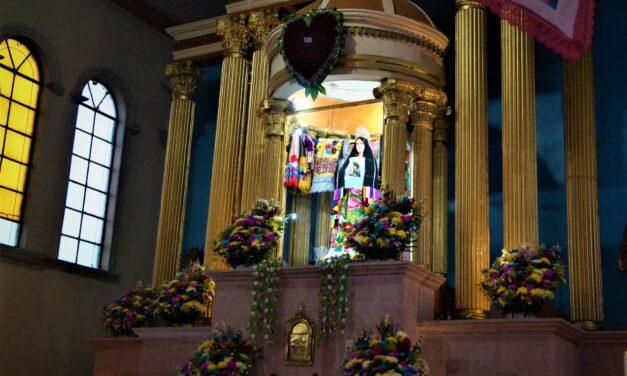 Celebran a la Virgen de la Natividad en Arantepacua