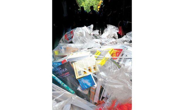 Libros piratas en manos de la delincuencia