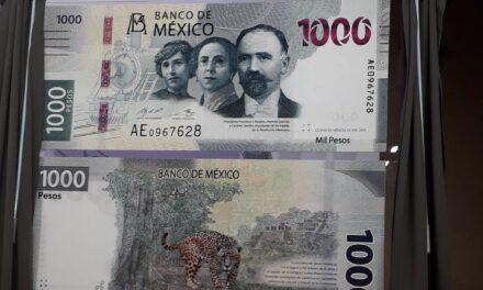 ¿Cómo es el nuevo billete de 1000 pesos?