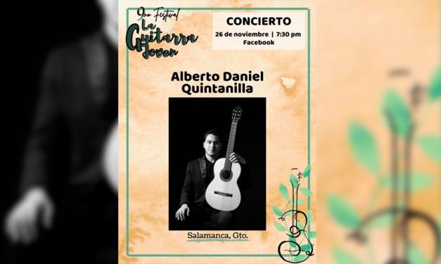 Concierto: Alberto Daniel Quintanilla