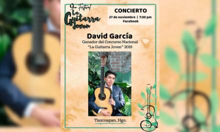 Concierto: David García