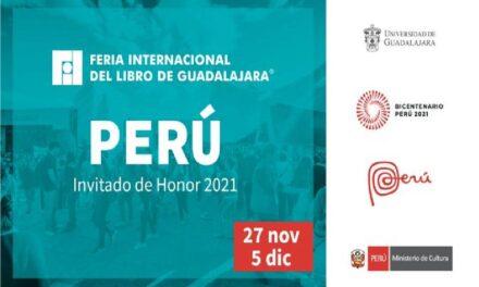 Perú, Invitado de Honor de la FIL Guadalajara en 2021