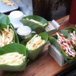 Comerciantes de Guatemala sustituyen los plásticos con hojas de plátano