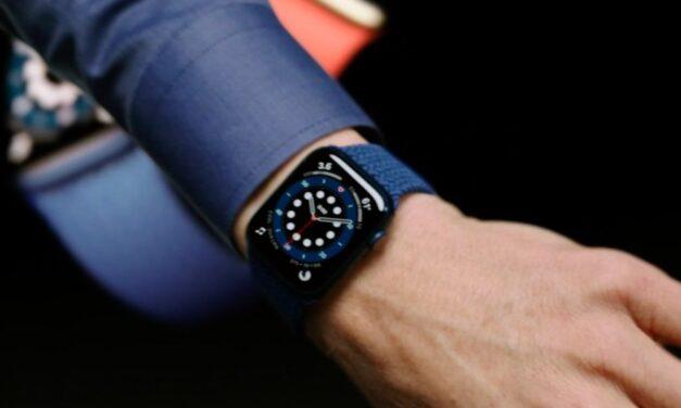El Apple Watch detectaría infección por COVID-19 hasta una semana antes que prueba PCR