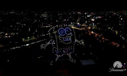 Paramount Plus llega a México con espectáculo de drones
