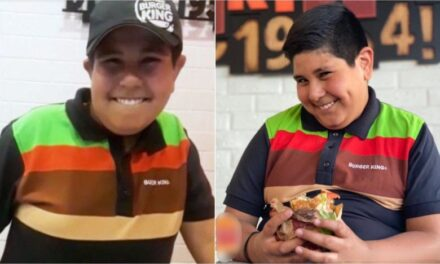 Niño del Oxxo es contratado por Burger King para hacer anuncios