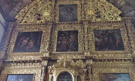 No está en el Vaticano, pero sí en Tupátaro: la Capilla Sixtina de Michoacán, una obra maestra de mano purépecha