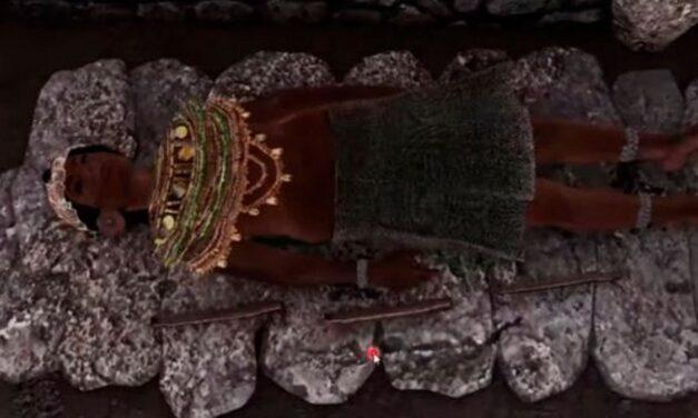 """Hallan tumba de """"princesa guerrera"""" en zona arqueológica de Michoacán"""