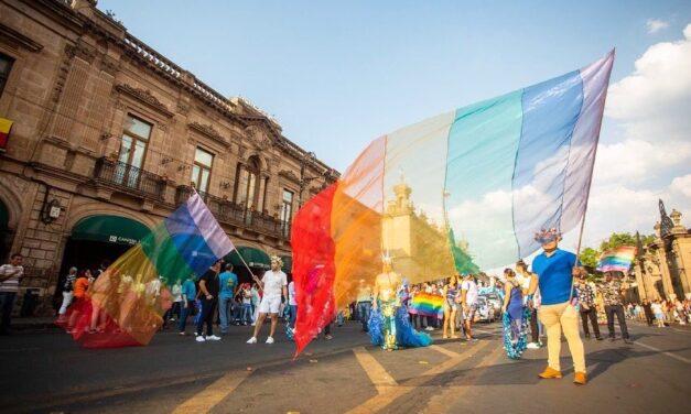 Morelia se viste de colores LGBTTT+
