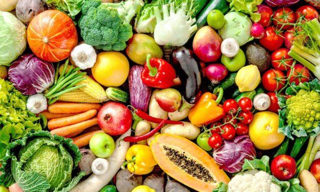 Los secretos de los colores de las frutas y verduras