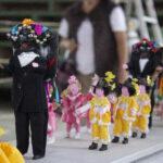 Presentan recorrido de las Yuntas de la Magdalena en minuatura