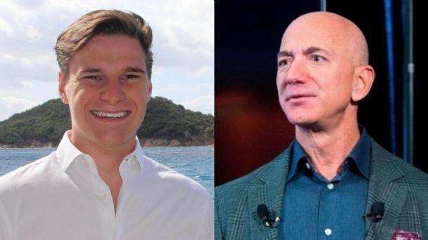El astronauta más joven que viajará al espacio con Jeff Bezos
