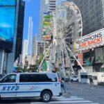 Monumental Rueda de la Fortuna en el Times Square