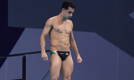 Rommel Pacheco se despide de los Juegos Olímpicos